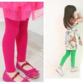 quần dài legging bé gái thời trang thumbnail