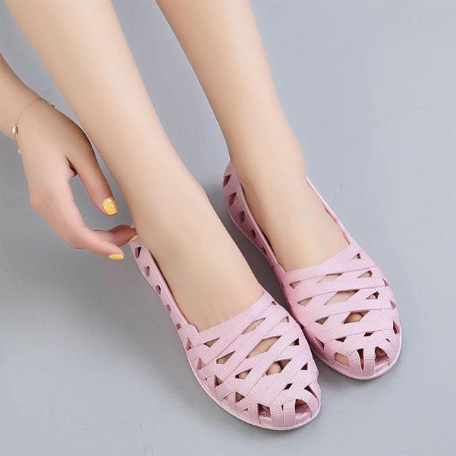 Giày Đi Mưa Thời Trang Nữ Siêu Dễ Thương Dạng Đan Ô giá rẻ
