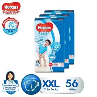 Combo 3 tã dán Huggies Diapers Super Jumbo XXL56 thumbnail