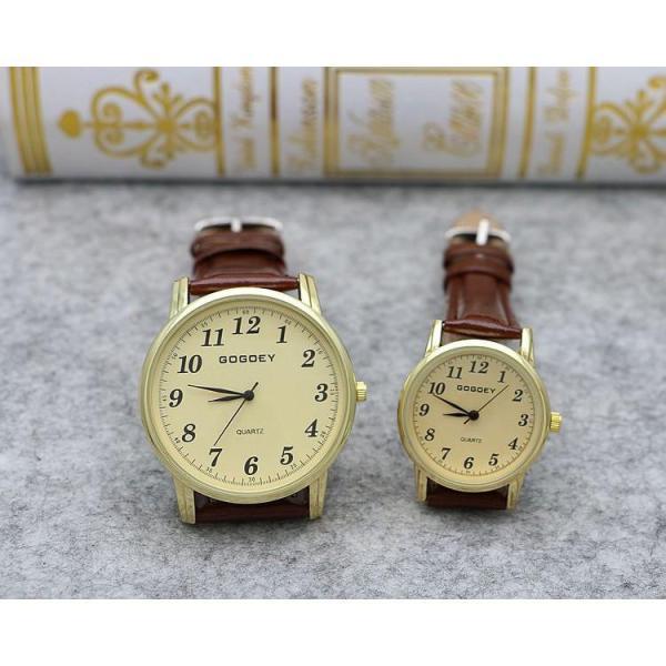 [HCM]Đồng hồ nữ AH470 Gogoey Korea G14 THỜI TRANG cặp dây da mỏng thời trang cổ điển + Tặng kèm hộp và Pin dự phòng