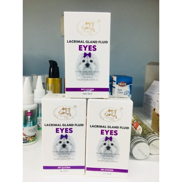 Siro Uống Chống Chảy Nước Mắt Ở Chó Mèo Lacrimal Gland Fluid Eyes 20ml