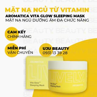Mặt nạ ngủ từ Vitamin giúp dưỡng và làm sáng da - Aromatica Lively Vita GlowTM Sleeping Mask 100g thumbnail