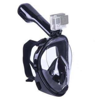 Mặt nạ lặn biển, kính lặn Full Face View 180 có ống thở, gắn được camera hành trình. thumbnail
