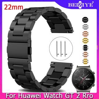 Dây đồng hồ 22mm Dây đeo bằng thép không gỉ cho Huawei Watch GT 2 Pro 46MM thumbnail