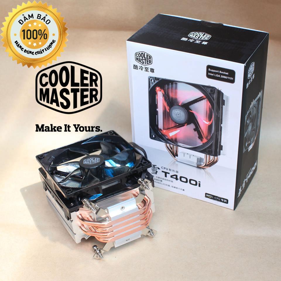 Tản nhiệt CPU COOLER MASTER T400i - Led Xanh (Đỏ)