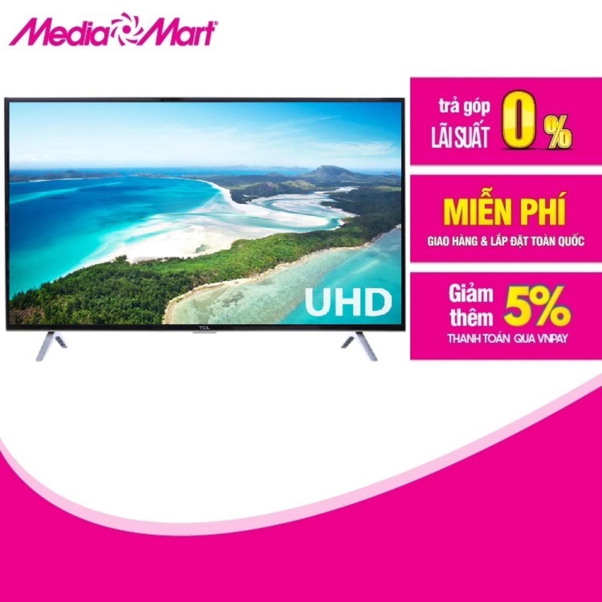 Bảng giá TV LED SMART ULTRA HD 50  TCL 50P62-UF