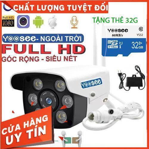 [kèm thẻ 32gb 64gb] camera wifi W26S 2.0 ngoài trời - trong nhà camera yoosee 2.0 Mpx Full HD 1080P -MÃ 399K KHÔNG CÓ THẺ MÃ 479K CÓ THẺ 32G