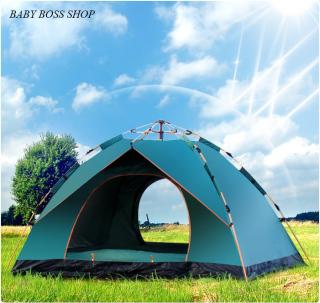 Lều cắm trại dã ngoại du lịch tự bung cao cấp 4 đến 6 người sử dụng 2mx2m1x1m35 thumbnail