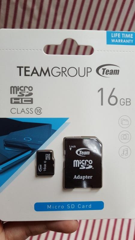 Thẻ Nhớ Micro SDHC Team Group 16GB Class 10(16GB)