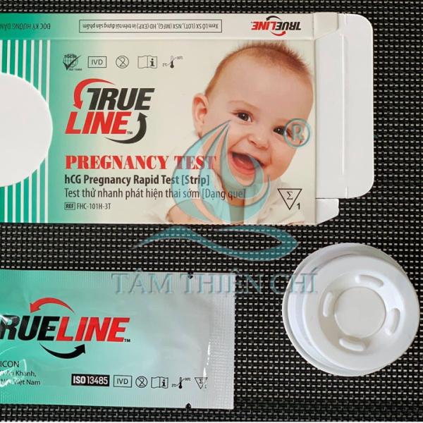 Que thử thai hCG Trueline hộp 1 bộ test
