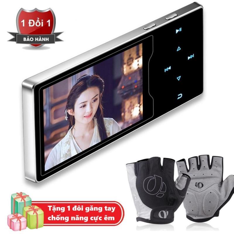 Máy nghe nhạc Ruizu D08 cao cấp màn hình HD 2.4 inch Tặng kèm Găng tay thể thao chống nắng