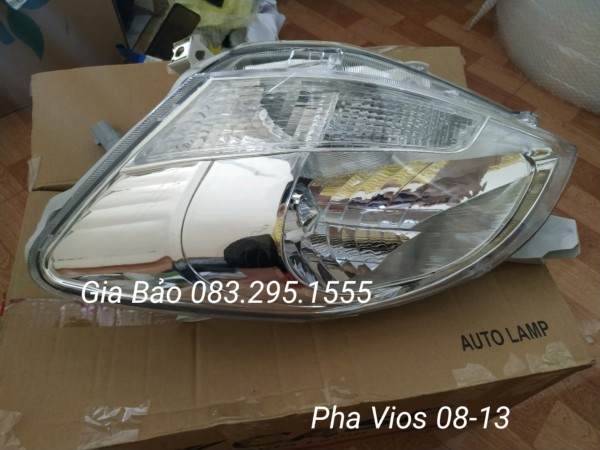 Đèn pha Vios 2008-2013 ( oem / 750k/1 cái )