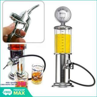 Bình châm tửu,bình đựng nước,đựng rượu,bình rót rượu thủy tinh hình cây xăng 1 vòi ( màu trắng),Bình Rót Nước kiểu dáng Cây Xăng 2 Vòi 1 Lít thumbnail
