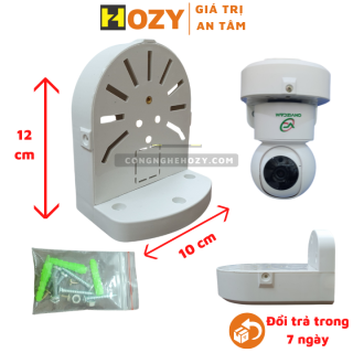 Chân đế gắn tường cho Camera Dome, Camera ốp trần hoặc camera eviz, onvizcam kiêm hộp đựng nguồn, ren đồng, chất liệu sịn, tối ưu trong lắp đặt thumbnail