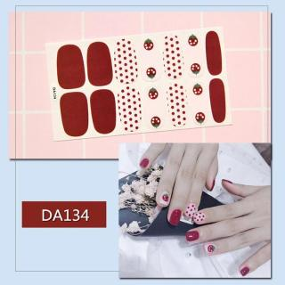 Sticker dán trang trí móng tay họa tiết dễ thương mã DA121 - DA140 thumbnail