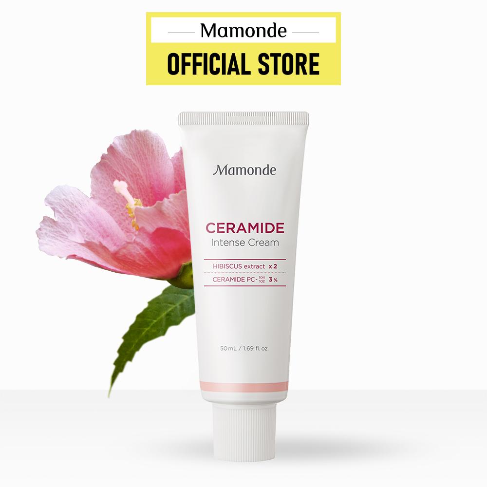 Kem dưỡng ẩm sâu giúp da khỏe mạnh dạng tuýp Mamonde Ceramide Intense Cream Tube 50ml