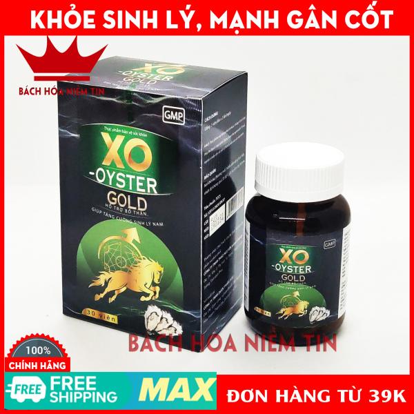 Viên uống hàu biển XO - OYSTER GOLD - Green - Giúp tăng cường sinh lý nam, bổ thận tráng dương, mạnh gân cốt, thành phần hàu biển dâm dương hoắc nhân sâm, tỏa dương - Hộp 30 viên chuẩn GMP nhập khẩu