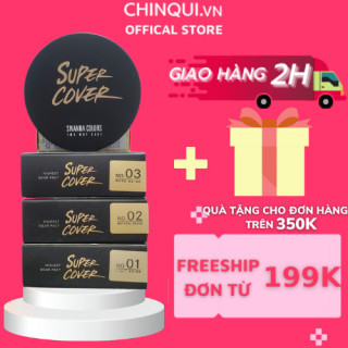 Phấn nền Sivanna colors super cover two way cake HF201 thumbnail