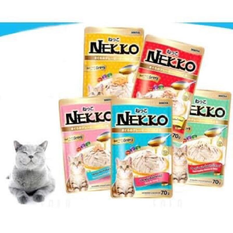 Patê Nekko Thức Ăn Cho Mèo Nhiều Vị Thơm Ngon