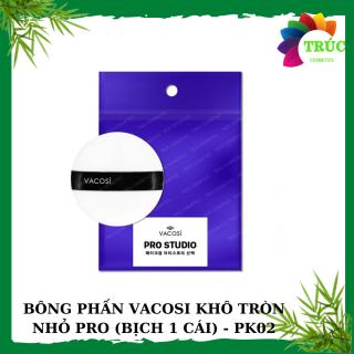 Bông phấn khô tròn nhỏ PRO (bịch 1 cái)- PK02-Trúc Cosmetics thumbnail