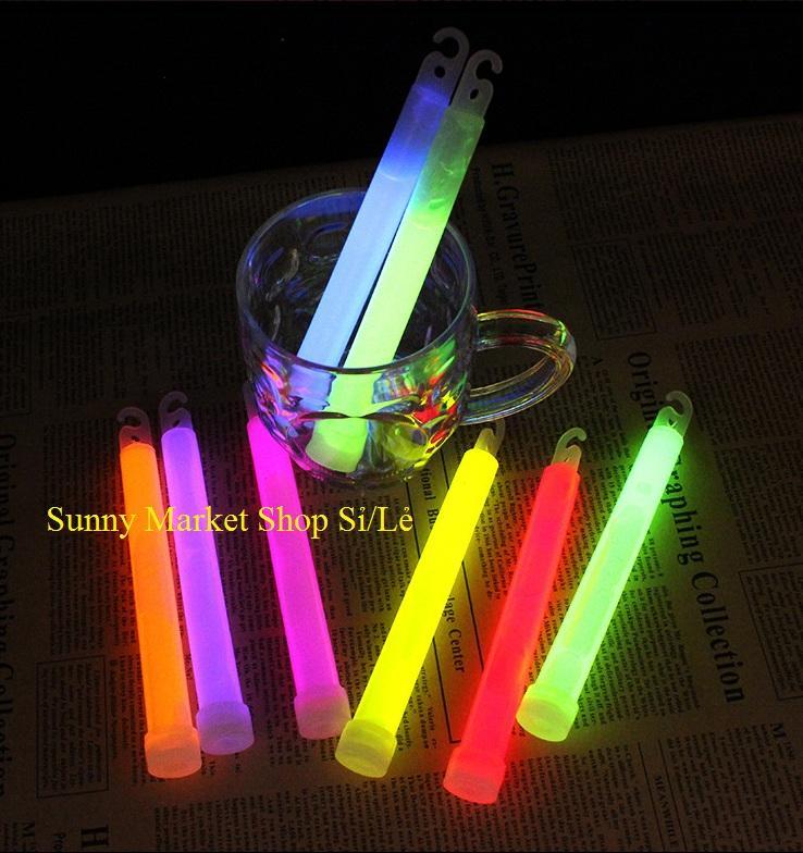 Que phát sáng Sunny loại to đương kính 1.8 cm, dài 1.5 cm phát sáng vào ban đêm hoặc phòng tối (1 Que) 8