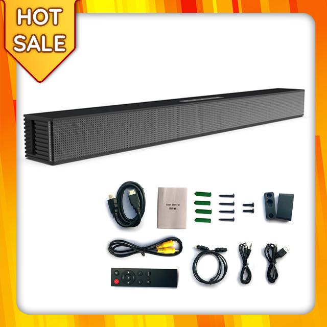 Loa Thanh Siêu Trầm Bluetooth Gaming Soundbar 40W Dùng Cho Máy Vi Tính PC, Laptop, Tivi Treo Tường BS-18