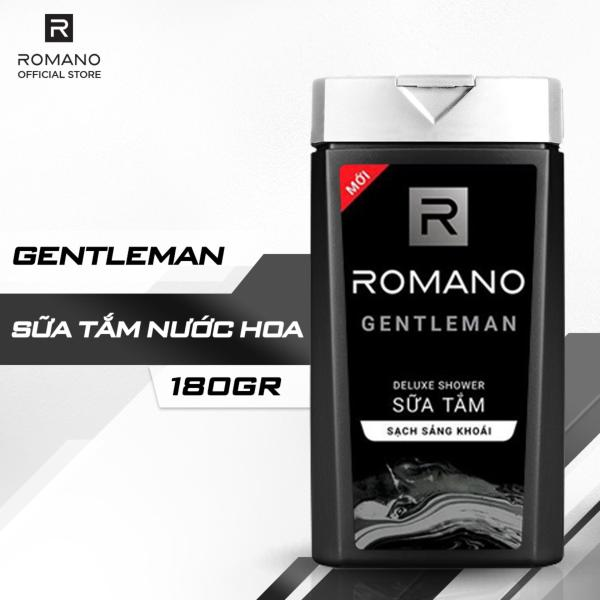 Sữa Tắm Hương Nước Hoa Romano Gentleman 180g cao cấp