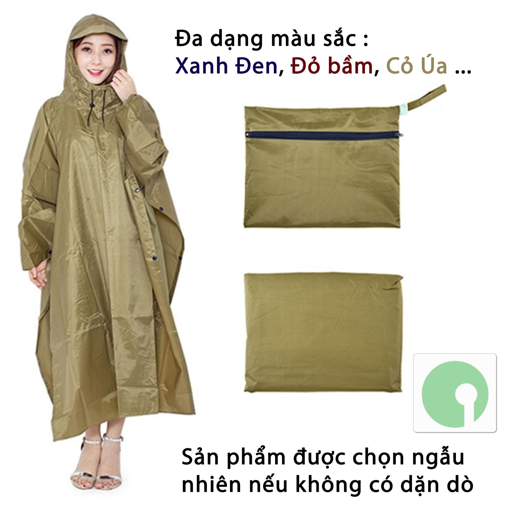 SaleOff - Áo mưa cánh dơi (xẻ tà) vải dù cao cấp loại lớn 1m4 - che kín 2 người mùa mưa - NPD-AMD-3786 (Nhiều màu)