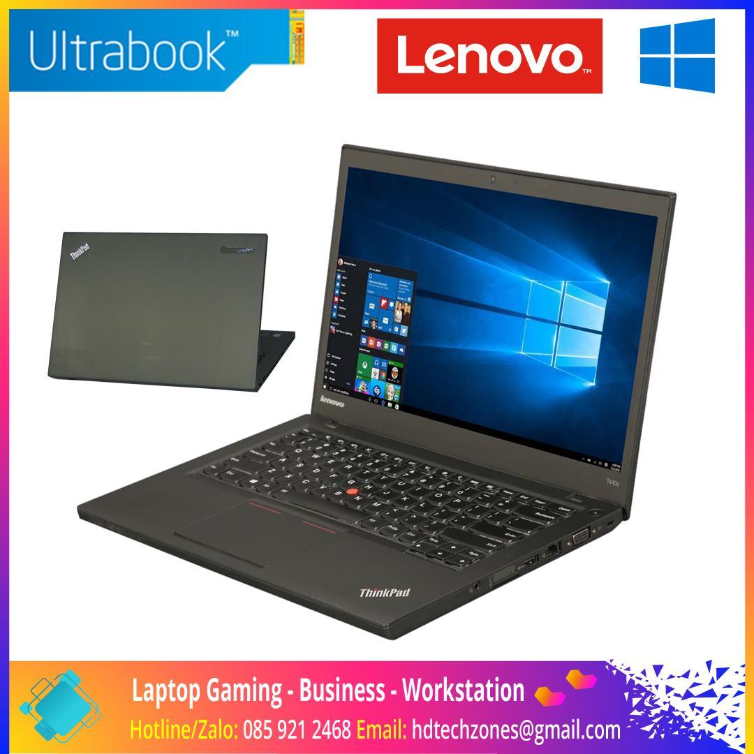 "Laptop Lenovo ThinkPad T440s Ultrabook: Core i5 4300U / RAM 4GB / HDD 500GB / Màn hình 14"" HD+"