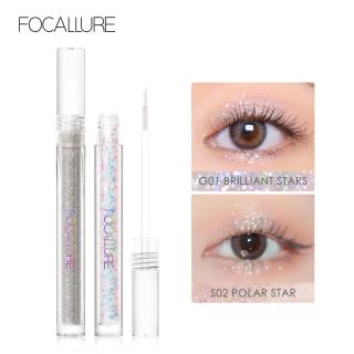 Focallure 5 màu Không thấm nước Starlight High Pigment Lightweight Long-Lasting Eyes Cosmetics Quick-Drying Strong AdhesionEye Makeup Liquid Eyeshadow thumbnail