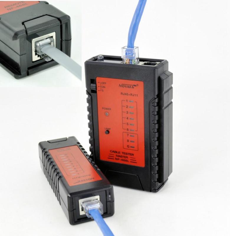 Bảng giá Bộ test dây mạng LAN RJ45 , RJ11 Noyafa NF468 Phong Vũ