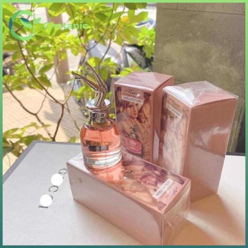 [YÊU THÍCH] Nước hoa nam, nước hoa nữ thơm lâu Karri hình đôi chân hàng nội địa Trung - Chetanic nhập khẩu