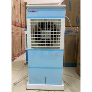 (Có át chống giật) Quạt điều hòa chính hãng SAMMAX Hàn Quốc SM-6000AG 150W 6600m3 gió cao 1.1m- Bơm tự ngắt, lưới lọc bụi- 100% động cơ đồng gió mạnh mẽ- Quạt điều hòa hơi nước- Bảo hành 2 năm động cơ thumbnail