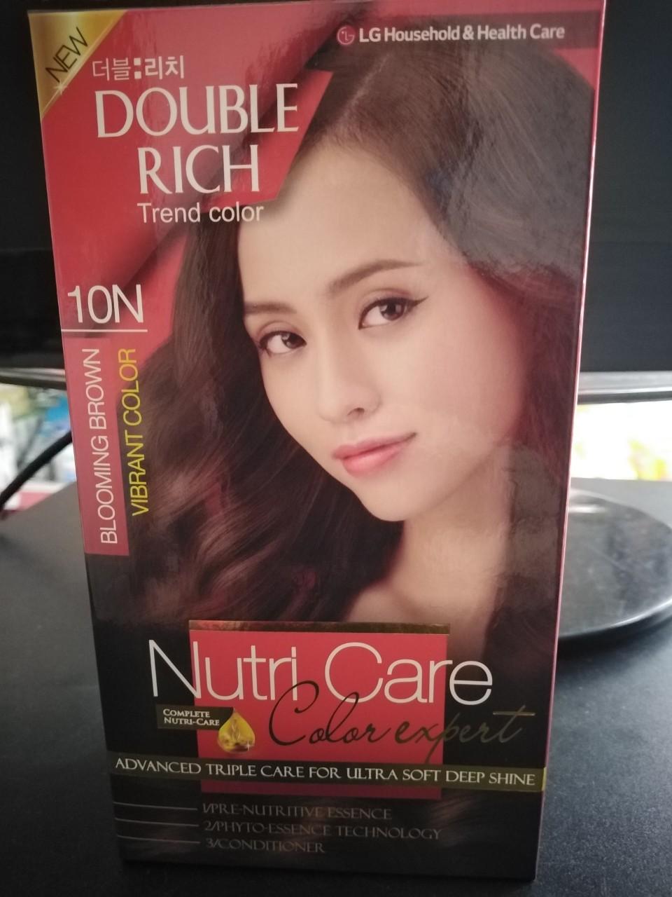 Nhuộm tóc Hàn Quốc Double rich