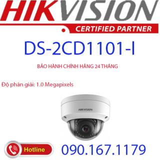 [HCM]Camera IP Dome hồng ngoại 1.0 Megapixel HIKVISION DS-2CD1101-I thumbnail