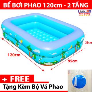Bể Bơi Cho Bé 2 Tầng 1m2 MÀU XANH LOẠI DÀY - Hồ Bơi, Hồ Bơi Trẻ Em, Bể Bơi Phao, Hồ Bơi Cho Bé, Ho Boi Cho Be, Be Boi Cho Be, Phao Bơi Cho Bé, Phao Tắm Cho Bé, Phao Bơi Cho Bé 1 Tuổi CHIRITA thumbnail