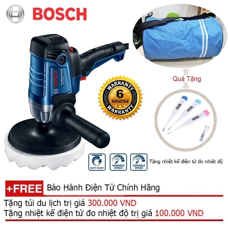 Máy đánh bóng xe hơi Bosch GPO 950 + Quà tặng nhiệt kế điện tử