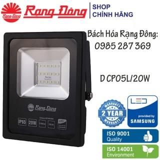 Đèn Chiếu Pha LED Rạng Đông 20W IP 65, Chống Bụi, Chống Nước, ChipLED Samsung thumbnail