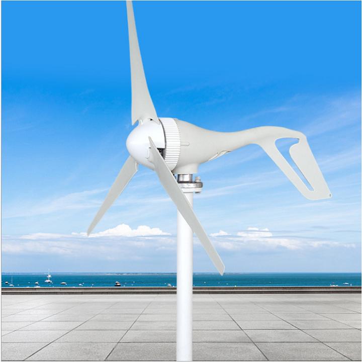 Máy phát điện gió 400W, 12V, đầy đủ sạc