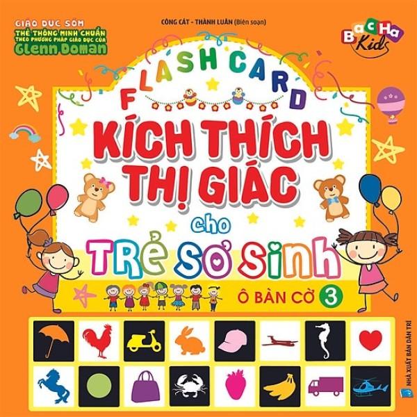 Mua Flash Card: Kích Thích Thị Giác Cho Trẻ Sơ Sinh 3 - Ô Bàn Cờ