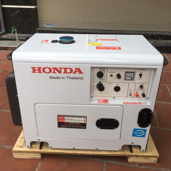 Máy Phát Điện Honda Chạy Dầu 5Kw HD8500EC Siêu Cách Âm