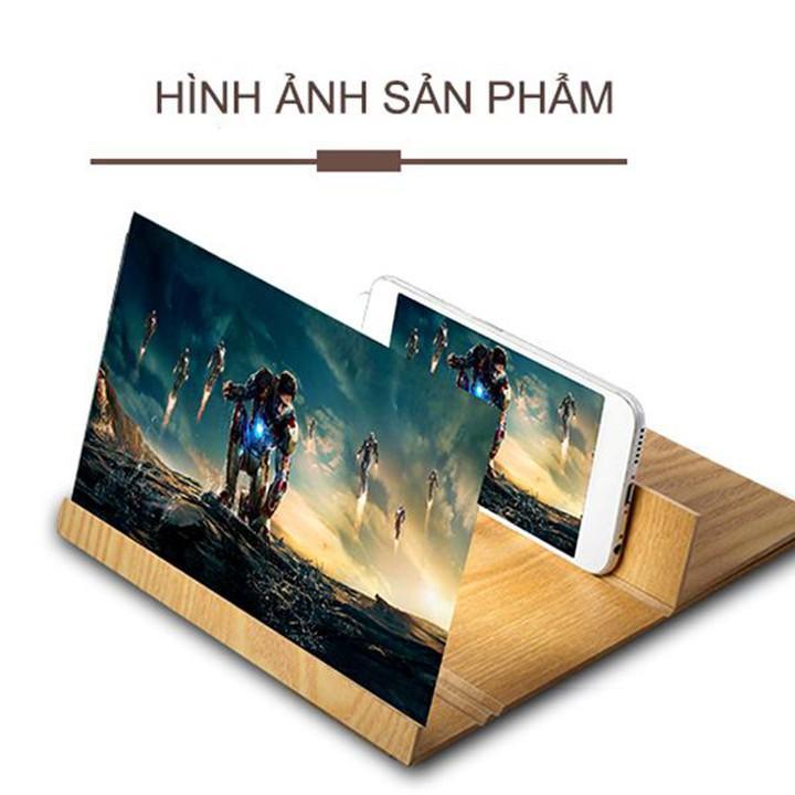 Kính phóng to màn hình 8.5 INCH 4D mẫu mới pd77 - Phối gỗ sang trọng - Giá sập sàn đón hè.