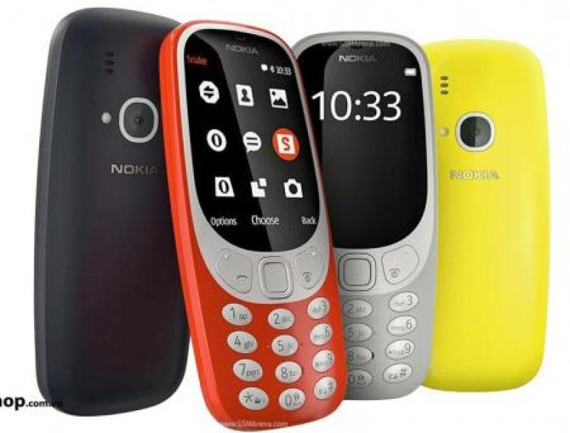 Điện thoại NOKIA 3310 FULL 2 SIM LCD (Màu ngẫu nhiên)