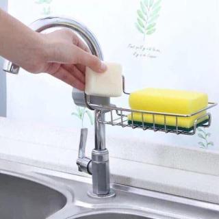 Kệ treo vòi rửa bát inox không gỉ, Giá gắn vòi nước thumbnail