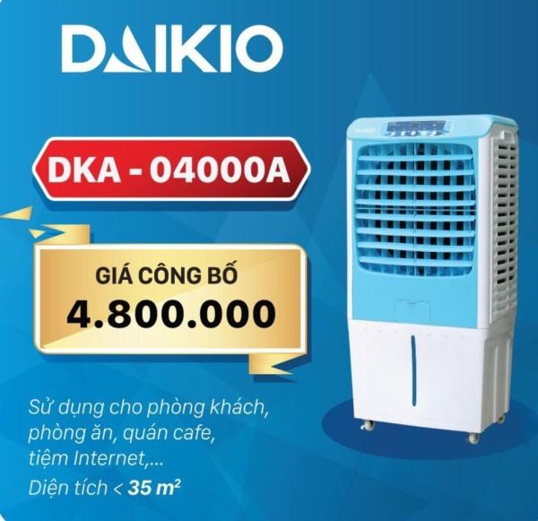 Bảng giá Quạt điều hòa bằng hơi nước DAIKIOSAN DKA-04000A ( miễn phí vận chuyển)