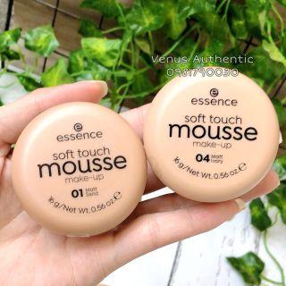 Phấn tươi Essence Soft Touch Mousse mỏng mịn che phủ cao - Mỹ phẩm nội địa Đức - Mẫu Mới 2021 Chữ Đen thumbnail