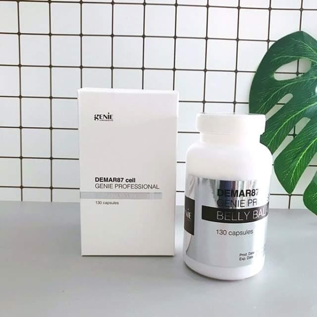 Viên Uống Tan Mỡ Bụng Genie Demar87 Cell Hàn Quốc - Demar87
