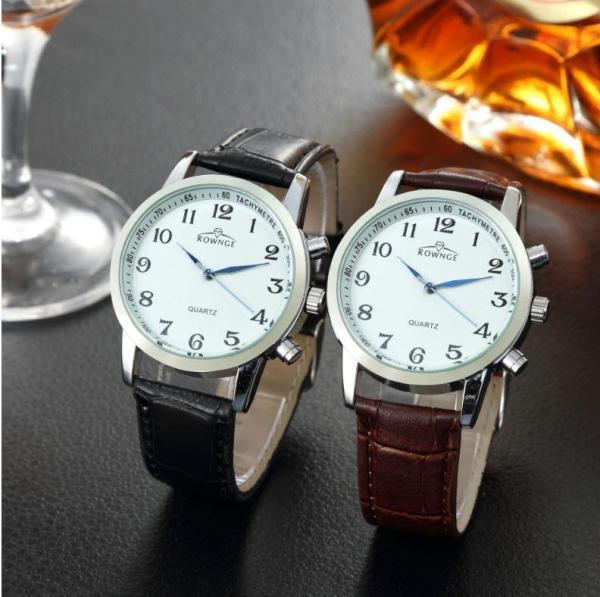 Đồng hồ nam Quartz Rowngo 16-6823 thời trang, 3 kim là sản phẩm giúp bạn tự tin hơn trong giao tiếp và cuộc sống, là đồ vật không thể thiếu của người đàn ông đích thực SL:1 Lee Watch