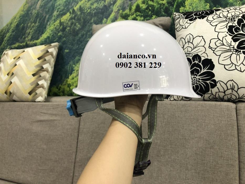 KHUYẾN MÃI - Nón bảo hộ lao động COV HF007 cách điện siêu nhẹ, chịu lực tốt
