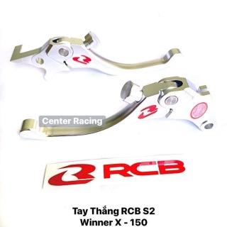 Tay thắng RCB S2 cho xe Winner X - 150 2020 MÀU TRẮNG [ GIÁ NHÀ MÁY ] thumbnail